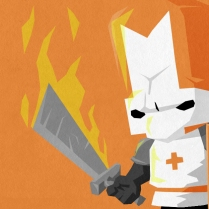 Castle Crashers Orange
