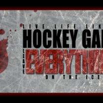 Inspirational Hockey Poster