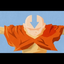 Aang Avatar Wall
