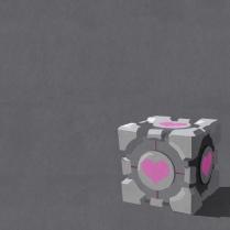 Companion Cube Wall