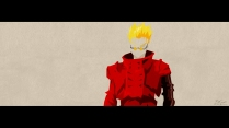 Vash the Stampede Wall